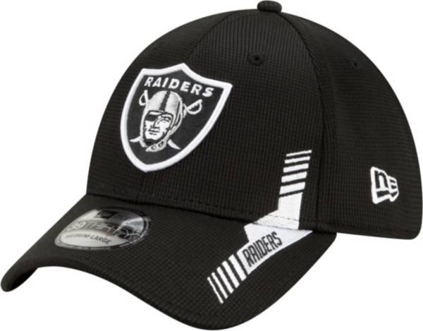New Era Men's Las Vegas Raiders Black Sideline 2021 Home 39Thirty Stretch Fit Hat product image