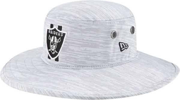 New Era Men's Las Vegas Raiders Grey Sideline 2021 Training Camp Panama Bucket Hat product image