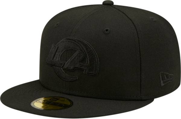 New Era Men's Los Angeles Rams Color Pack 59Fifty Black Fitted Hat product image