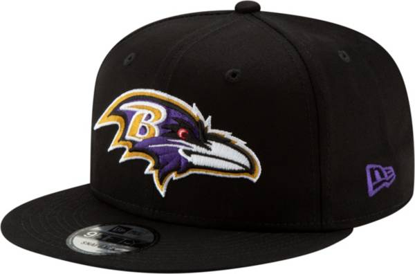 New Era Men's Baltimore Ravens Basic 59Fifty Black Fitted Hat product image