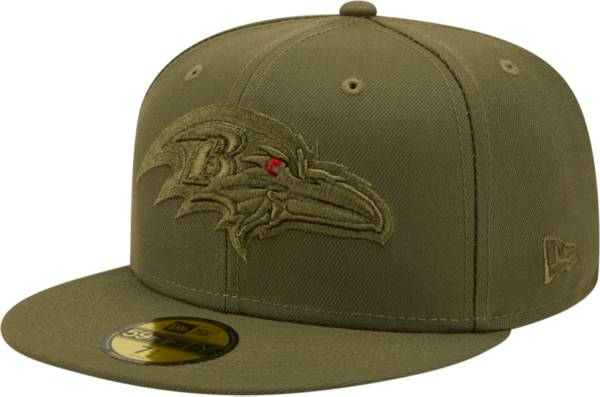 New Era Men's Baltimore Ravens Color Pack 59Fifty Olive Fitted Hat product image