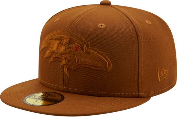 New Era Men's Baltimore Ravens Color Pack 59Fifty Peanut Fitted Hat product image