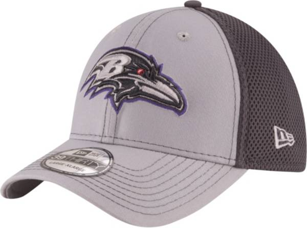 New Era Men's Baltimore Ravens Grayed Out Neo 39Thirty Stretch Fit Hat product image