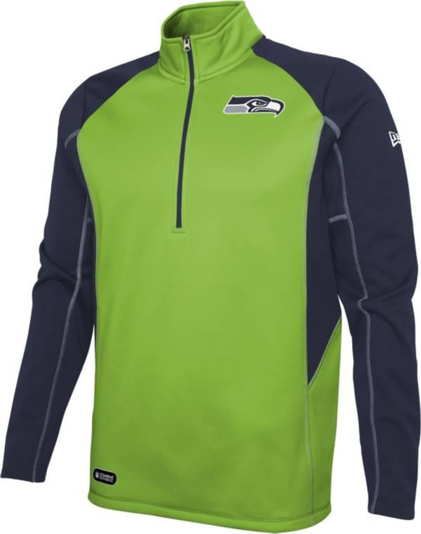 New Era Men's Seattle Seahawks 2 A Days ¼ Zip product image