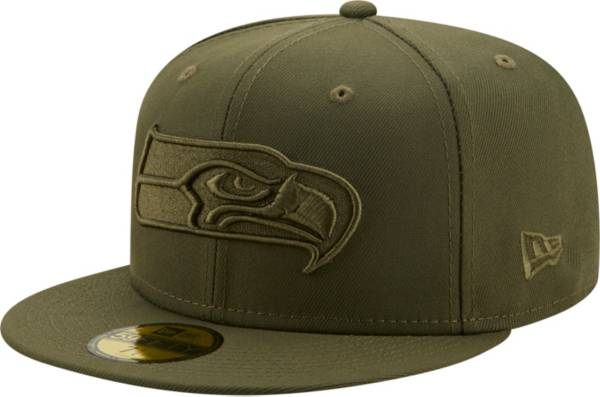 New Era Men's Seattle Seahawks Color Pack 59Fifty Olive Fitted Hat product image