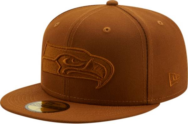 New Era Men's Seattle Seahawks Color Pack 59Fifty Peanut Fitted Hat product image