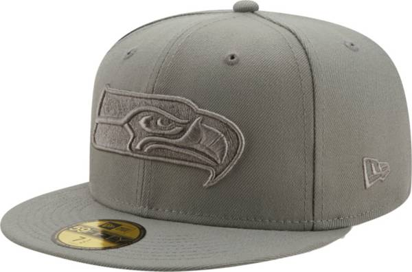 New Era Men's Seattle Seahawks Color Pack 59Fifty Grey Fitted Hat product image