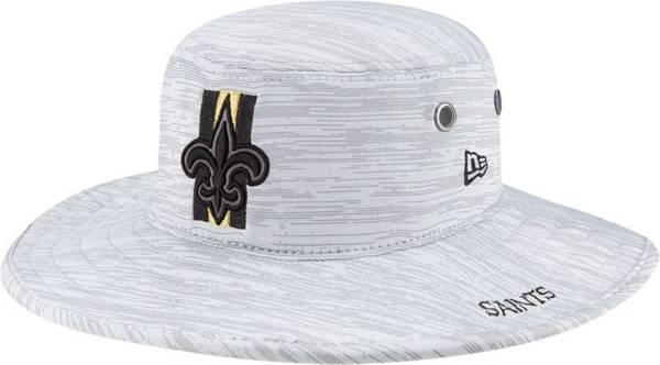 New Era Men's New Orleans Saints Grey Sideline 2021 Training Camp Panama Bucket Hat product image