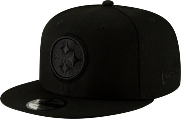 New Era Men's Pittsburgh Steelers Black on Black Basic 59Fifty Fitted Hat product image