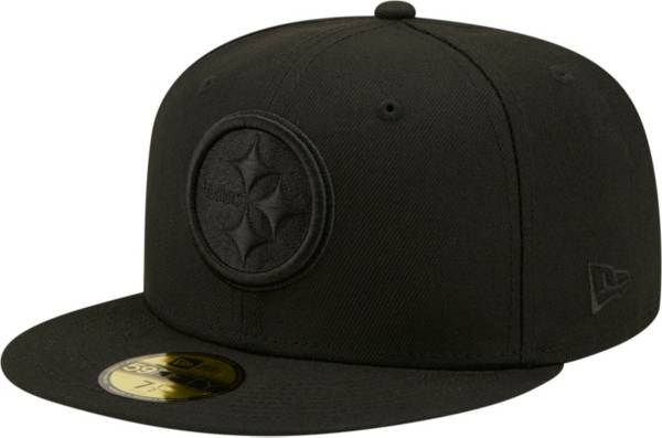 New Era Men's Pittsburgh Steelers Color Pack 59Fifty Black Fitted Hat product image