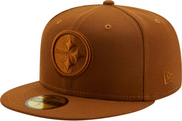 New Era Men's Pittsburgh Steelers Color Pack 59Fifty Peanut Fitted Hat product image