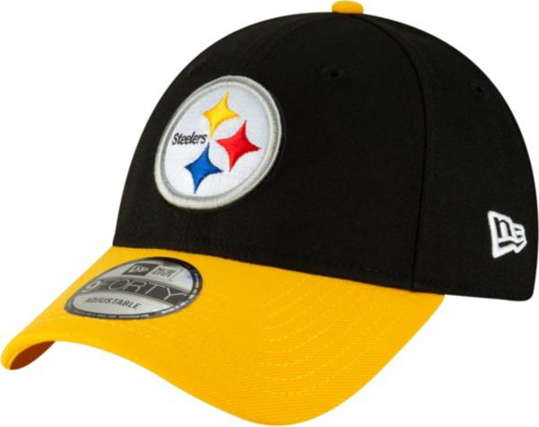 New Era Men's Pittsburgh Steelers Black League 9Forty Adjustable Hat product image