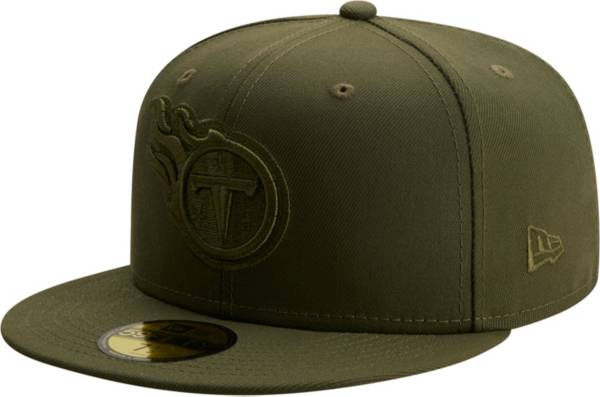 New Era Men's Tennessee Titans Color Pack 59Fifty Olive Fitted Hat product image