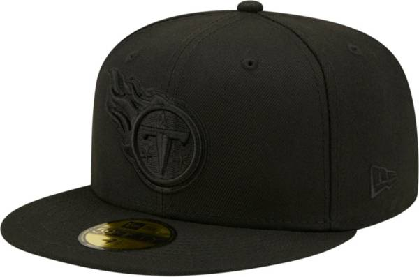 New Era Men's Tennessee Titans Color Pack 59Fifty Black Fitted Hat product image