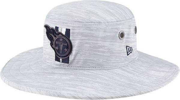 New Era Men's Tennessee Titans Grey Sideline 2021 Training Camp Panama Bucket Hat product image