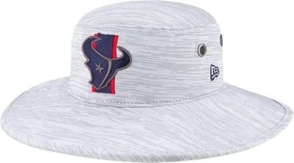 New Era Men's Houston Texans Grey Sideline 2021 Training Camp Panama Bucket Hat product image