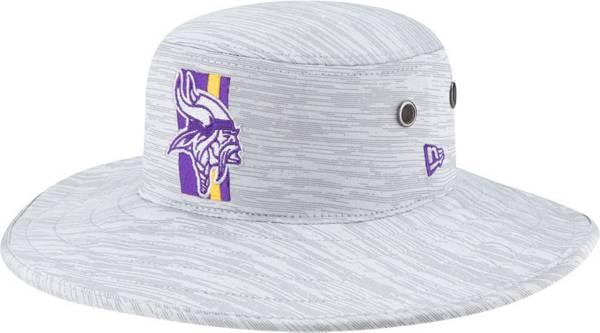 New Era Men's Minnesota Vikings Grey Sideline 2021 Training Camp Panama Bucket Hat product image