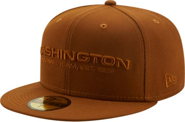 New Era Men's Washington Football Team Color Pack 59Fifty Peanut Fitted Hat product image