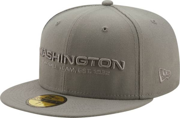 New Era Men's Washington Football Team Color Pack 59Fifty Grey Fitted Hat product image