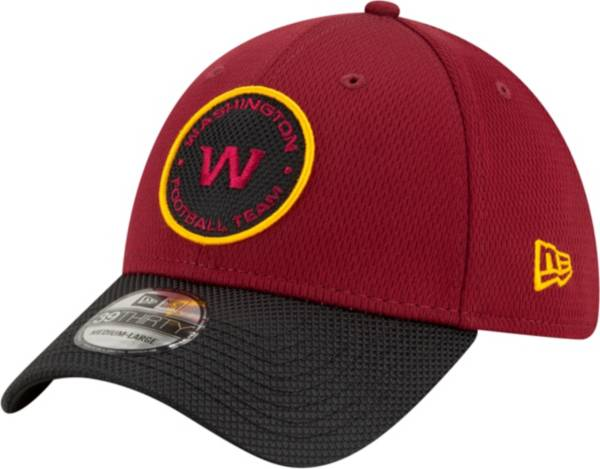 New Era Men's Washington Football Team Sideline 2021 Road 39Thirty Red Stretch Fit Hat product image