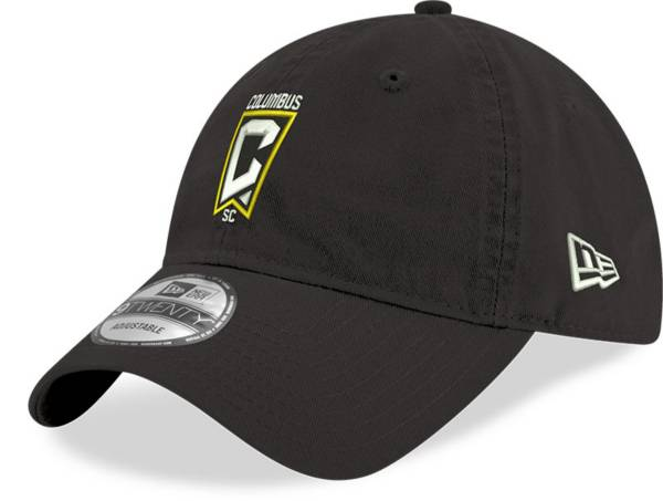 New Era Men's Columbus Crew Crest 9Twenty Black Adjustable Hat product image