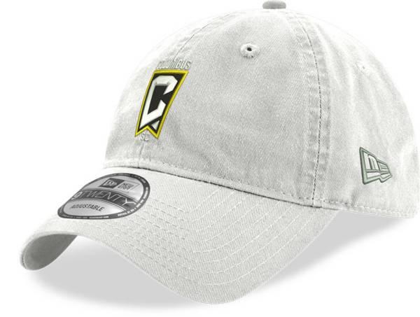 New Era Men's Columbus Crew Crest 9Twenty White Adjustable Hat product image