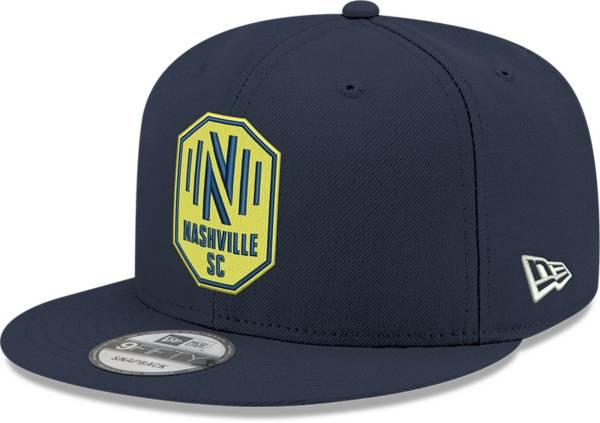 New Era Men's Nashville SC Navy 9Fifty Adjustable Hat product image