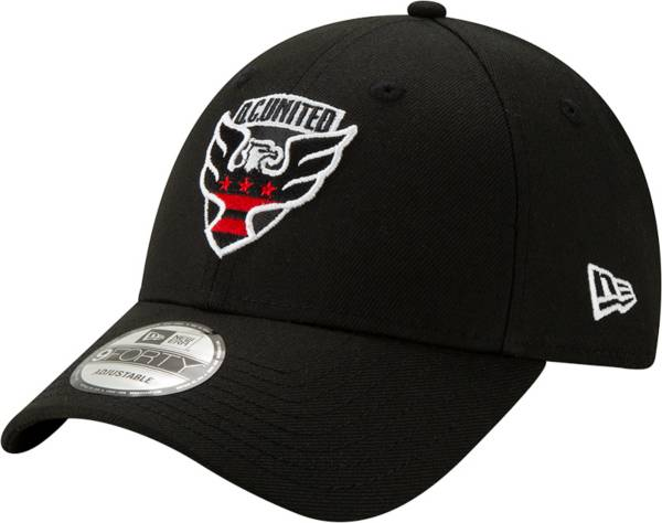 New Era D.C. United The League 9Forty Black Adjustable Hat product image