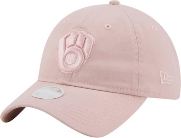 New Era Women's Milwaukee Brewers Pink Core Classic 9Twenty Adjustable Hat product image