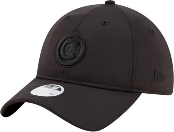 New Era Women's Chicago Cubs 9Twenty Black Sharp Adjustable Hat product image