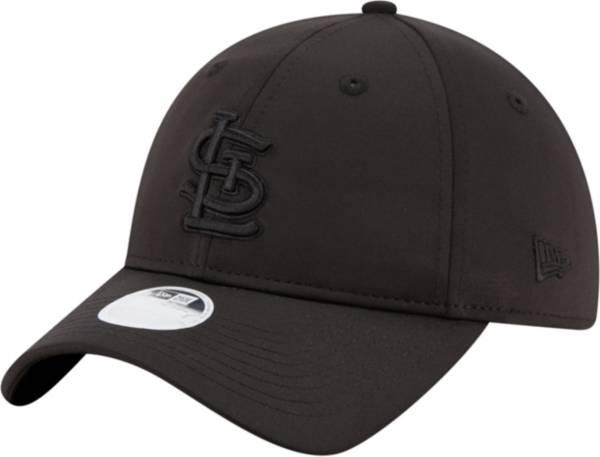 New Era Women's St. Louis Cardinals Black Sharp 9Twenty Adjustable Hat product image