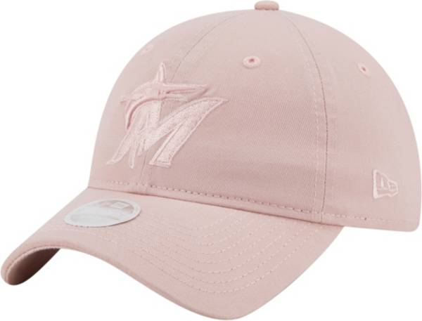 New Era Women's Miami Marlins Pink Core Classic 9Twenty Adjustable Hat product image