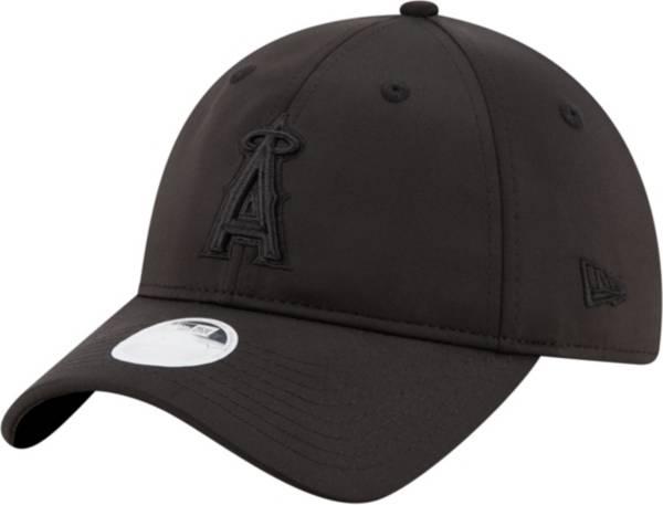 New Era Women's Los Angeles Angels Black Sharp 9Twenty Adjustable Hat product image