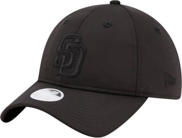 New Era Women's San Diego Padres Black Sharp 9Twenty Adjustable Hat product image