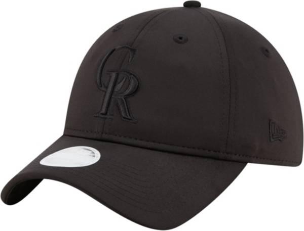 New Era Women's Colorado Rockies 9Twenty Black Sharp Adjustable Hat product image