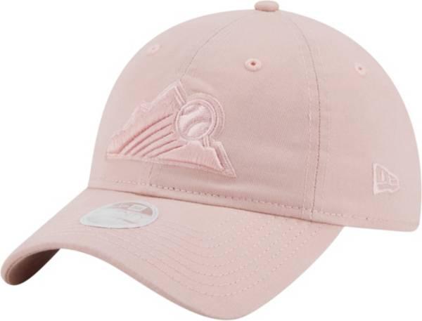 New Era Women's Colorado Rockies Pink Core Classic 9Twenty Adjustable Hat product image