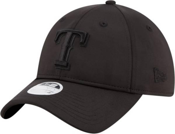 New Era Women's Texas Rangers 9Twenty Black Sharp Adjustable Hat product image