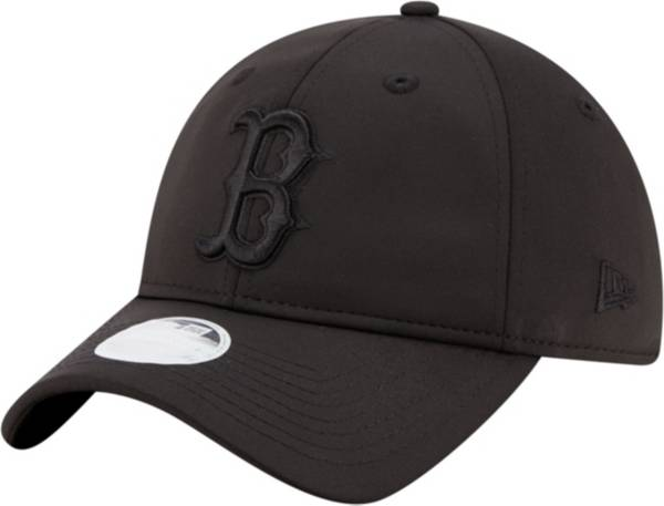 New Era Women's Boston Red Sox 9Twenty Black Sharp Adjustable Hat product image
