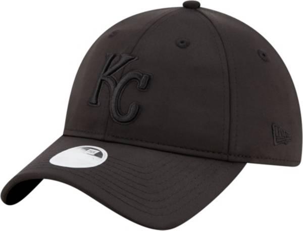 New Era Women's Kansas City Royals 9Twenty Black Sharp Adjustable Hat product image