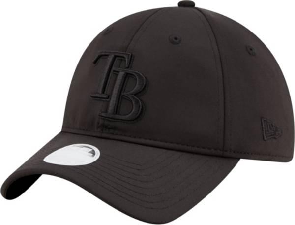 New Era Women's Tampa Bay Rays 9Twenty Black Sharp Adjustable Hat product image