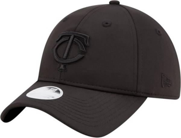 New Era Women's Minnesota Twins 9Twenty Black Sharp Adjustable Hat product image