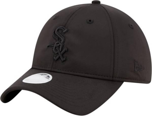 New Era Women's Chicago White Sox 9Twenty Black Sharp Adjustable Hat product image