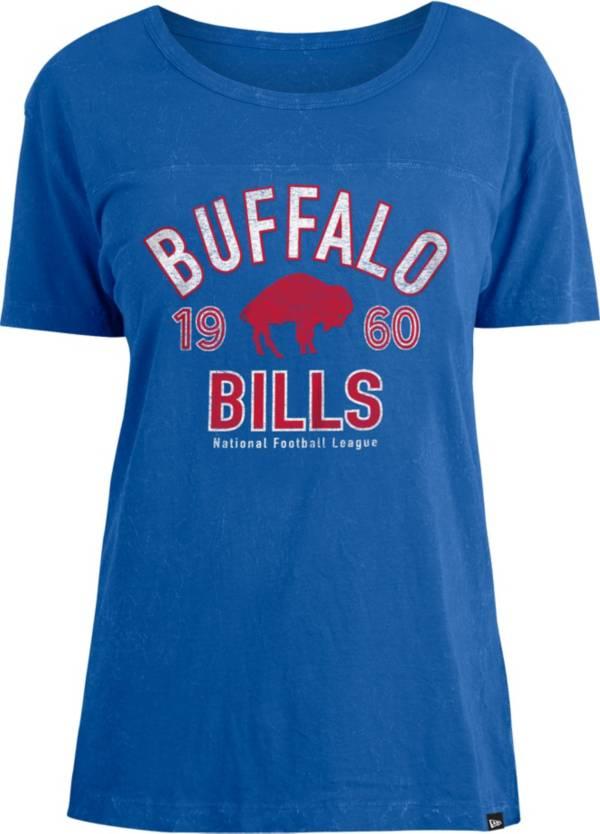 New Era Women's Buffalo Bills Royal Mineral Wash T-Shirt product image