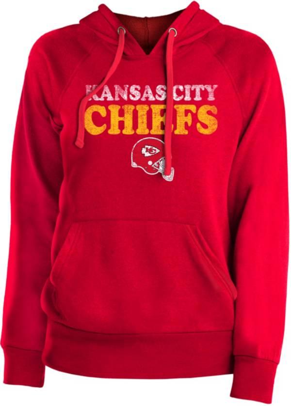 New Era Women's Kansas City Chiefs Red Stencil Hoodie product image