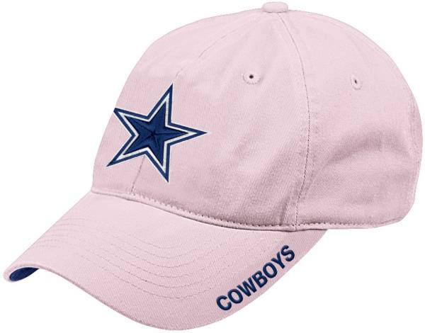 Dallas Cowboys Merchandising Pink Basic Slouch Adjustable Hat product image