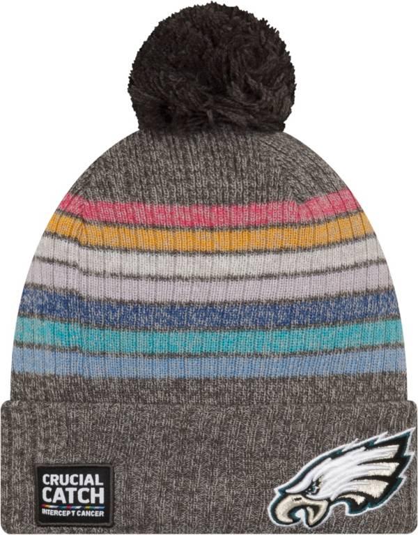 New Era Women's Philadelphia Eagles Crucial Catch Grey Knit product image