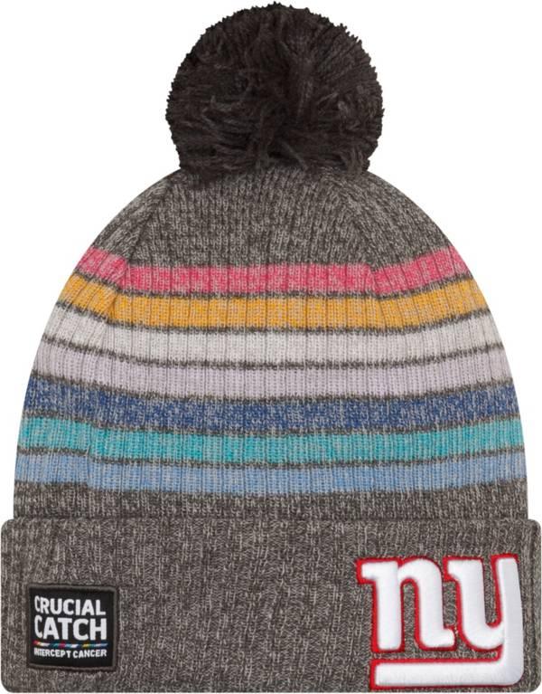 New Era Women's New York Giants Crucial Catch Grey Knit product image
