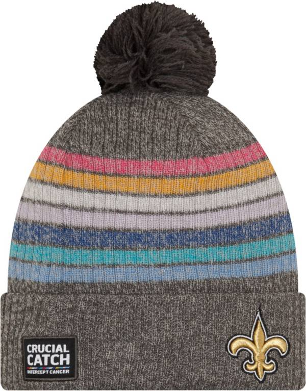 New Era Women's New Orleans Saints Crucial Catch Grey Knit product image