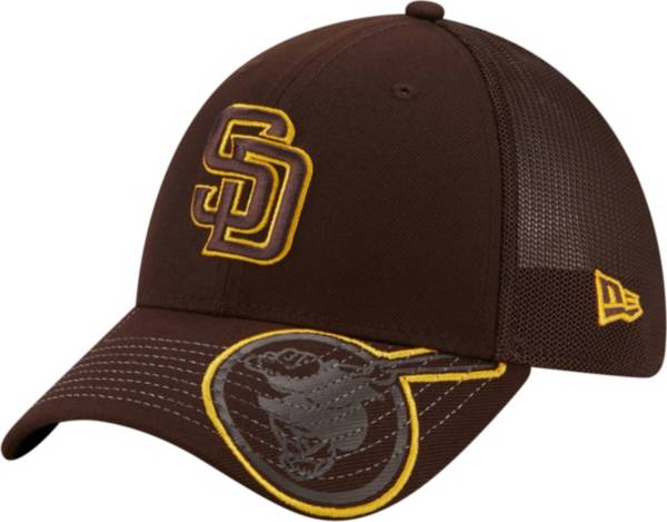 New Era Youth San Diego Padres Brown 39Thirty Stretch Fit Hat product image