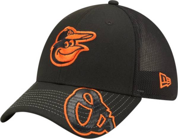 New Era Youth Baltimore Orioles Black 39Thirty Stretch Fit Hat product image